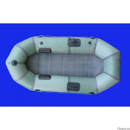 """Надувная резиновая лодка """"Стриж"""" Лисичанка, с уключинами"""