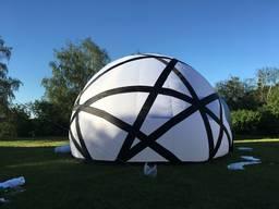 Надувное рекламное помещение палатка