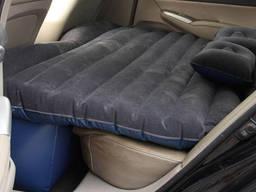 Надувной матрас в автомобиль с насосом (Черный)