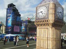 Надувные часы Big Ben 5м