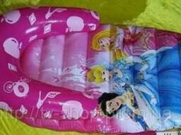 Надувные матрасы, круги, жилеты Disney (Китти/Тачки/Принцессы)
