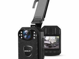 Нагрудный видеорегистратор для полиции - боди камера полицейского Boblov KJ21, 2 Мп, до. ..