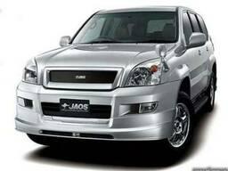 Накладка на бампер для Toyota Land Cruiser Prado 120