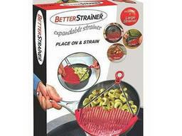 """""""Better Strainer"""" (Дуршлаг) Прибор для слияния воды."""