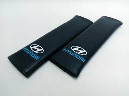 Накладка на ремень безопасности Hyundai Black
