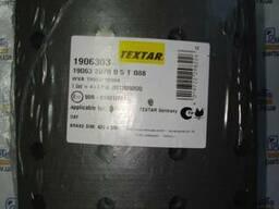 Накладки тормозные DAF 200x21 XF95/105 STD Textar