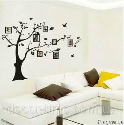 Наклейка на стену дерево в Украине (022)