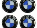Наклейки на колпаки BMW 90 мм. - фото 1