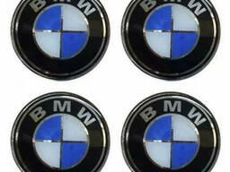 Наклейки на колпаки BMW 90 мм.