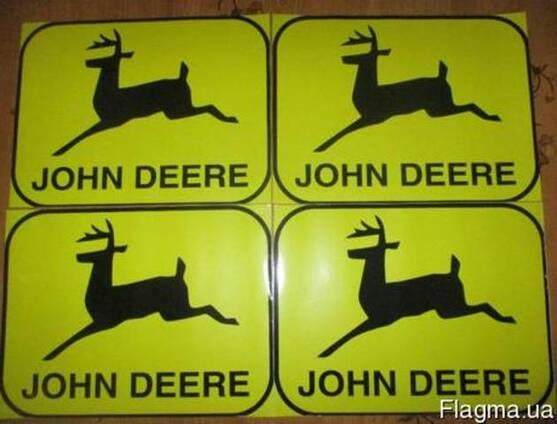 Наклейки на комбайн Джон Дир John Deere