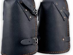 Наколенники кожаные на ремнях ARTMAS NKS