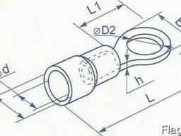 Наконечник под болт М8 для провода от 4 до 6 квадрат мм
