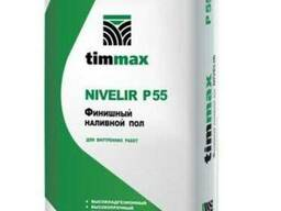 Наливной пол Timmax Nivelir P55, толщина 3-10 мм, 20 кг