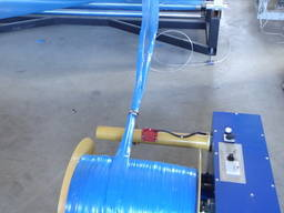 Намотчик обрезной кромки трим ленты в рулон
