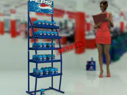 Напольная стойка  для Pepsi колы