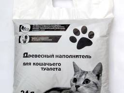 Наполнитель древесный для кошачьих туалетов