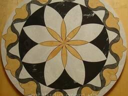 Напольное панно из плитки Atrium Buttone D742 мм