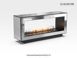 Напольный биокамин Module-m7 ТМ Gloss Fire