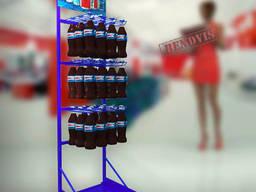 Напольные торговые стойки Pepsi