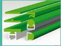 Направляющие для цепей пластинчатых конвейерных