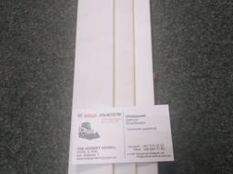 Направляющие станков из антифрикционного пластика Zedex-100K