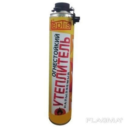 Напыляемый огнестойкий полиуретановый утеплительTeplis 1000