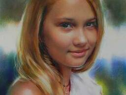 Нарисую портрет по фото на заказ Украина - фото 2