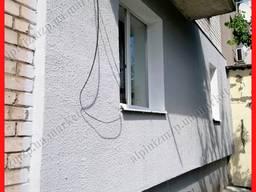 Наружное утепление стен пенопластом г. Запорожье