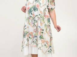 Нарядное платье из шифона с 56 по 62 размер