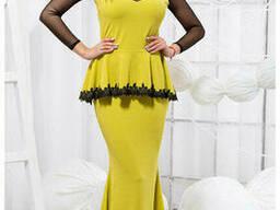 Нарядное женское платье в пол 42-46, доставка по Украине