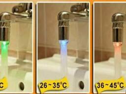 Насадка на кран Светодиодная LED Water Glow