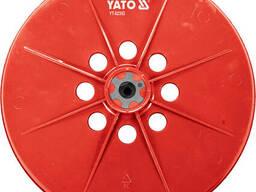Насадка кругла для шліфмашин YT-82340 і YT-82350 YATO Ø225 мм
