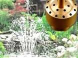 Насадка латунная для фонтана Фейерверк 3 яруса - фото 1