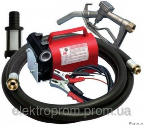 Насос для заправки топлива Kит Батари 12В, 40 л/мин