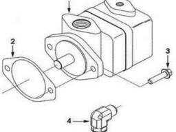 Прокладка гидравлического насоса C154916 двигатель...