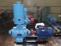 Насосный агрегат ВВН 1-25 купить вакуумный насос ВВН1-25