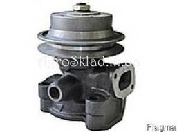 Насос водяной ЮМЗ-6 (со шкивом, чугуная крыльчатка)