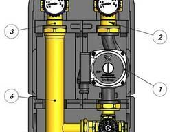 Насосная группа с термостатич. смесительным клапаном, цена