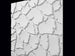 "Настенные 3Д панели"" сахара"" из гипса"