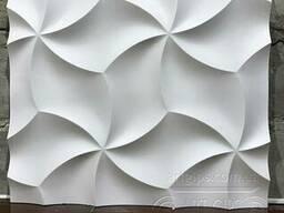 """Настенные 3Д панели"""" оригами"""" из гипса"""