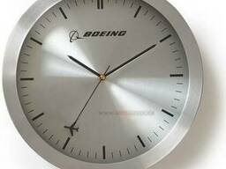 Настенные часы Boeing Rotating Plane Wall Clock