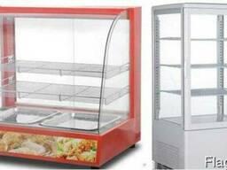 Настольная тепловая холодильная барная витрина кондитерская