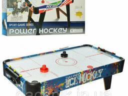 Настольный хоккей Bambi ZC 3005B воздушный аэро хоккей деревянный на ножках 85x43x22 см