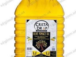 Настоящее рафинированное оливковое масло Pomace CRETA DROP 5 л