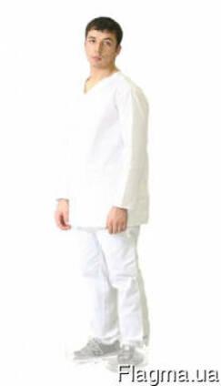 Нательное белье мужское, ткань бязь, куртка, брюки