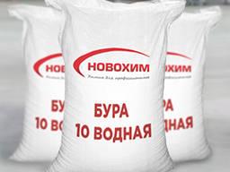 Натрия тетраборнокислый 10-водный ( бура 10-водная )