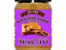 """Натуральное арахисовое масло(паста)""""Диарин"""" с изюмом"""