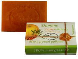 Натуральное мыло Ambra Детское Тыква-Облепиха (100 г)