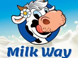 """Натуральный Творог жирности 9% и 0% ТМ """"Milk Way"""""""