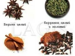 Натуральные пряности, сушеные семена, ягоды и плоды